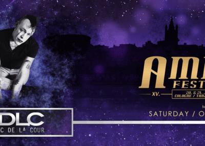 Amphi Festival 2019 - Henric de la Cour